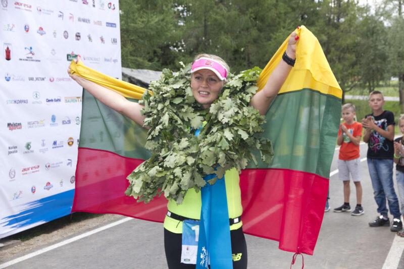 """Alina Ranceva 2022-ųjų rugpjūtį planuoja vėl stoti prie starto linijos ultratriatlono varžybose. """"SEKUNDĖS"""" nuotr."""