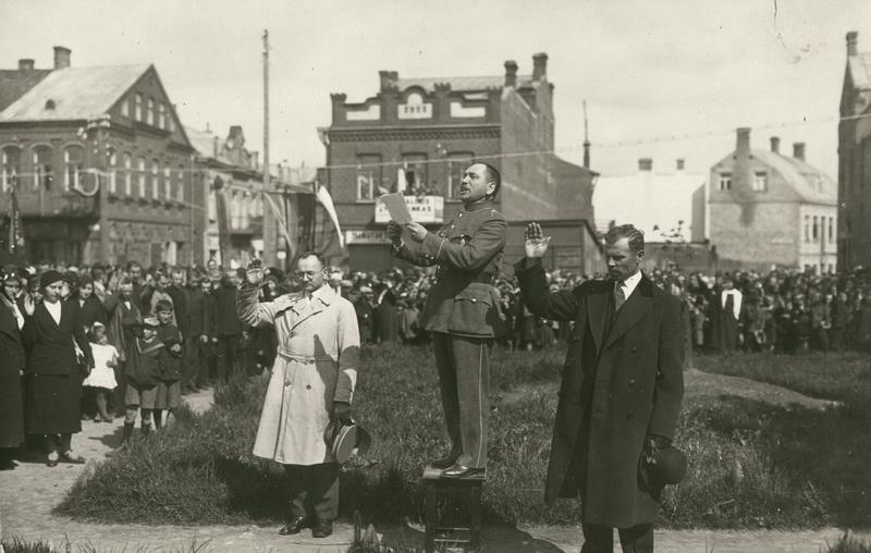 Vilniui vaduoti sąjungos renginys. PANEVĖŽIO KRAŠTOTYROS MUZIEJAUS rinkinių nuotr.