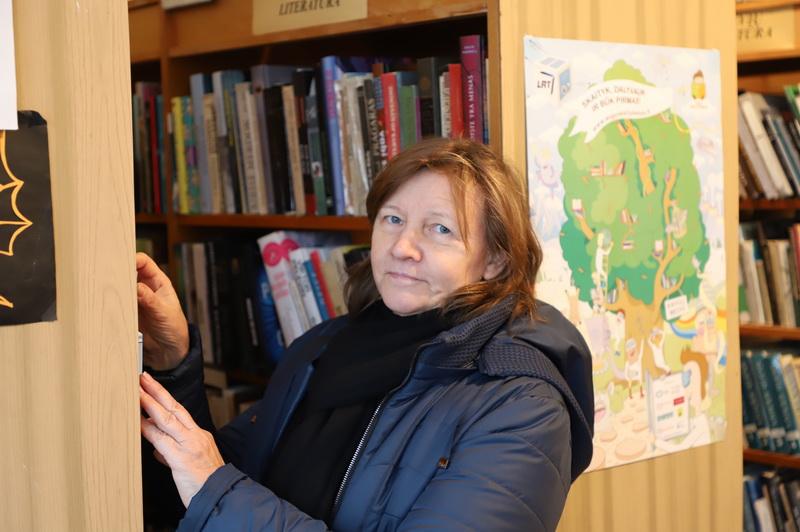 Bibliotekininkė Zita Osipovienė daug laiko praleido kaime gražiu pavadinimu – Linažiedžiai. I. STULGAITĖS-KRIUKIENĖS nuotr.