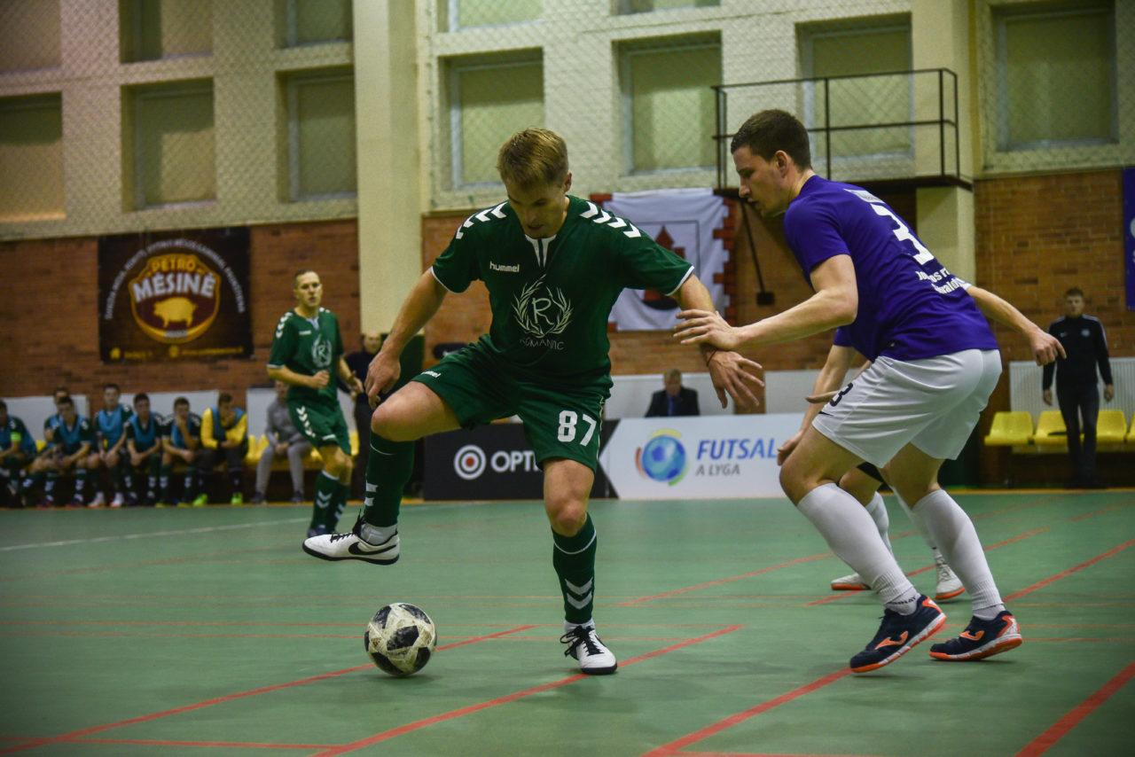Salės futbolininkai sieks pirmosios pergalės (foto galerija)