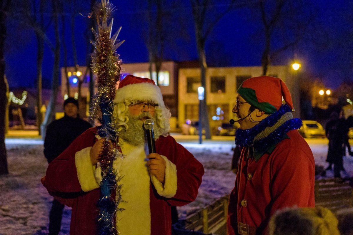Ir kas galėtų paneigti, kas šis Kalėdų Senelis – netikras? Asmeninio archyvo nuotr.