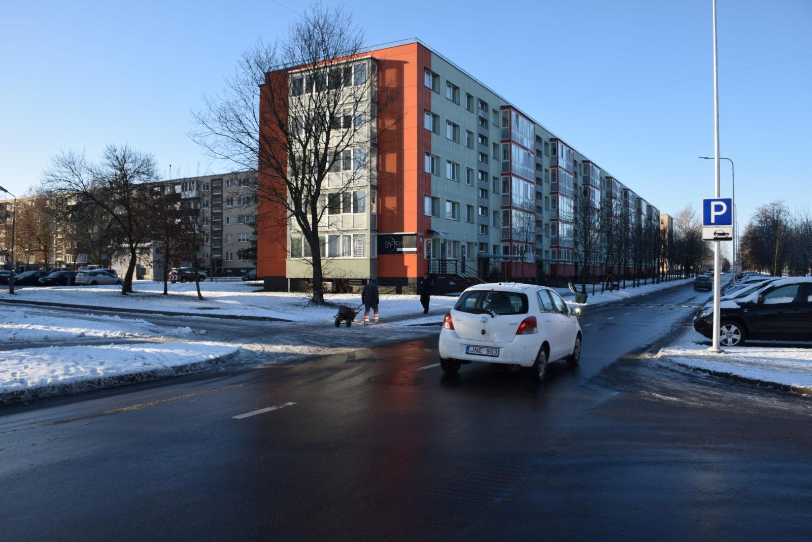Užbaigta Statybininkų gatvės rekonstrukcija