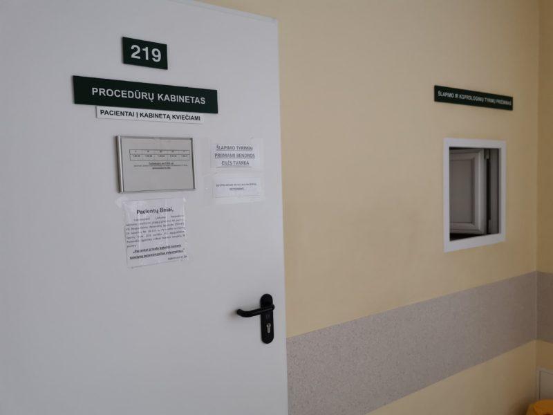 Konsultacijų poliklinikos pacientams civilizacijos dar teks palūkėti – planai renovuoti gydymo įstaigą kol kas dar popieriuje. I. STULGAITĖS-KRIUKIENĖS nuotr.