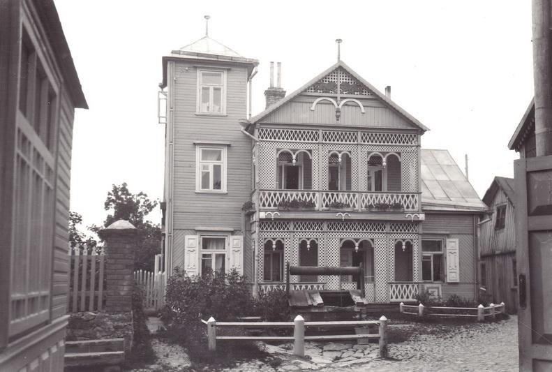 Braueriams – gabenimų ir nuomos verslą turėjusiai Panevėžio žydų šeimai priklausęs namas Ukmergės gatvėje. PANEVĖŽIO ŽYDŲ BENDRUOMENĖS nuotr.
