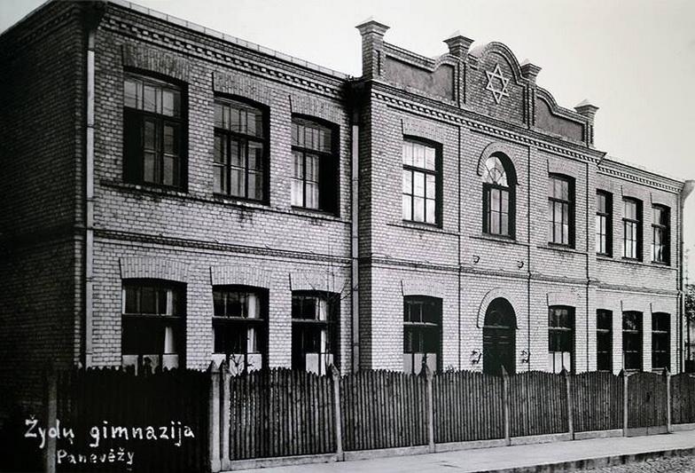 Žydų gimnazijos pastatas Panevėžyje. Prireikė nemažai laiko, kol šios bendruomenės vaikai pradėti leisti ne tik į religines mokyklas. PB ARCHYVŲ nuotr.
