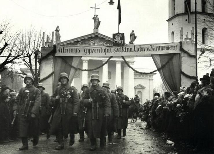 Istoriniu požiūriu, žydų parama Lietuvai susigrąžinant Vilnių buvo itin reikšminga. Jie tapo ta kritine mase, leidusia legitimizuoti lietuvių politines pretenzijas į sostinę. LCVA nuotr.
