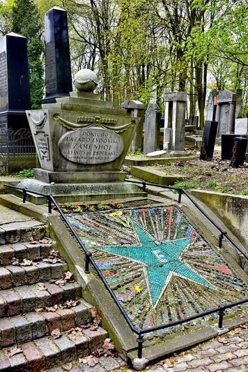 Liudviko Zamenhofo kapas Varšuvoje. ARCHYVŲ nuotr.