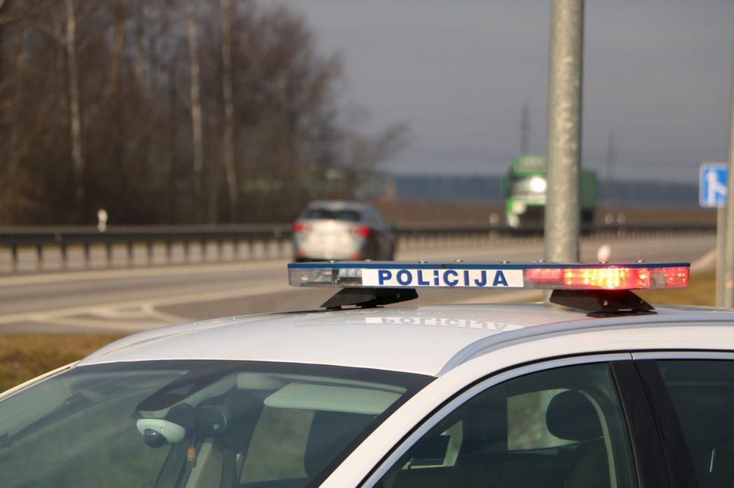 Avarija kelyje Vilnius–Panevėžys: atkarpa Panevėžio kryptimi nepravažiuojama