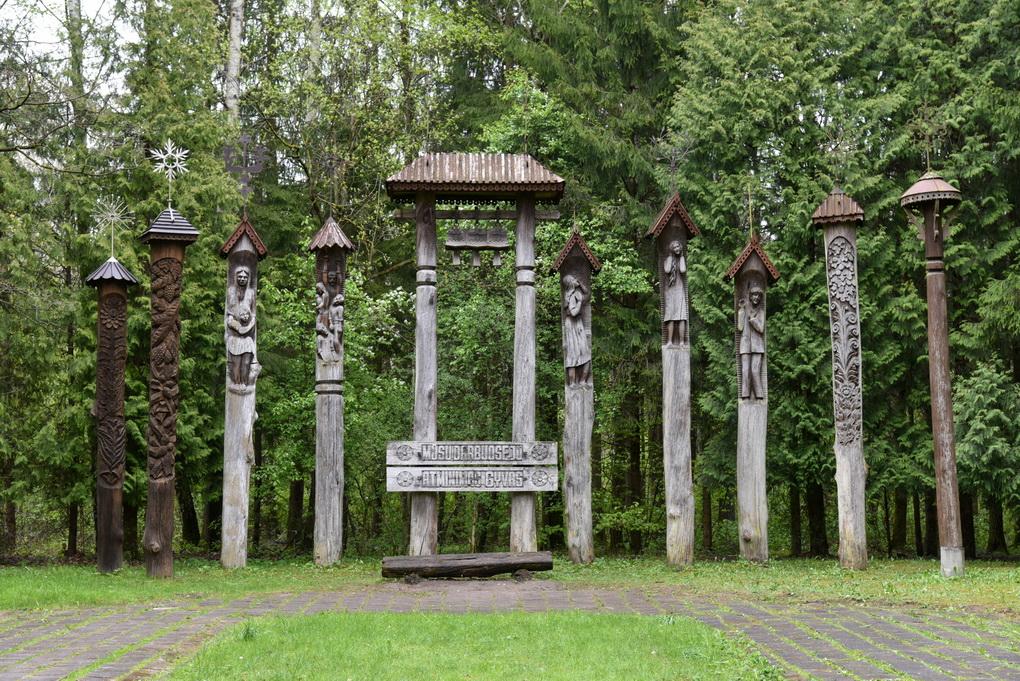 Bene arčiausiai Panevėžio miesto ribos buvusi egzekucijų vieta – Staniūnų, arba Kaizerlingo miškas. P. ŽIDONIO nuotr.