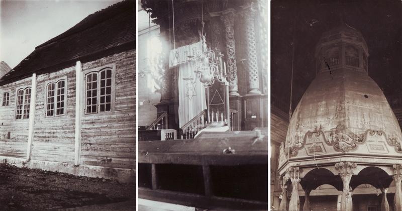 Istorikams tik palyginti neseniai fotografijose pavyko pamatyti, kaip iš vidaus atrodė didžioji medinė Panevėžio sinagoga – ilgą laiką tebuvo išlikę aprašymai. PANEVĖŽIO ŽYDŲ BENDRUOMENĖS nuotr.