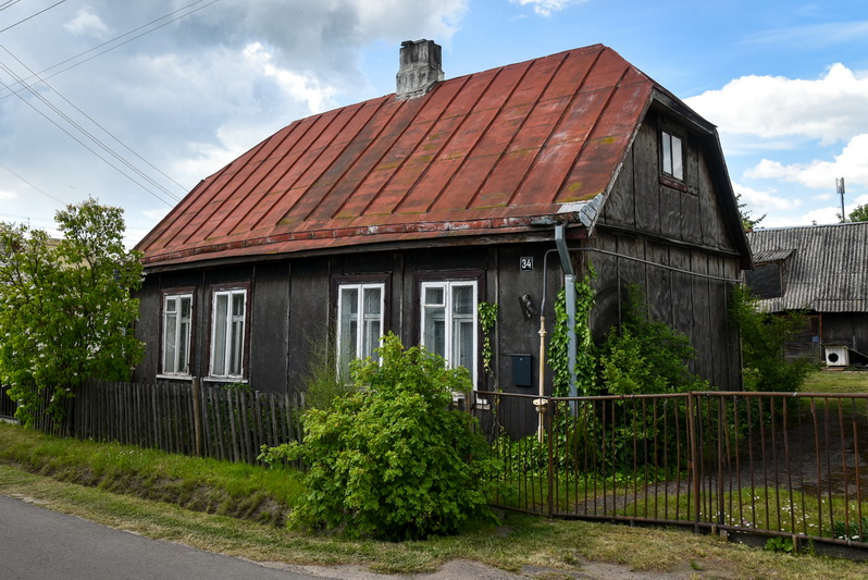 Dabar iš originaliųjų to meto namų beveik nepakitę mieste išliko tik trys. P. ŽIDONIO nuotr.