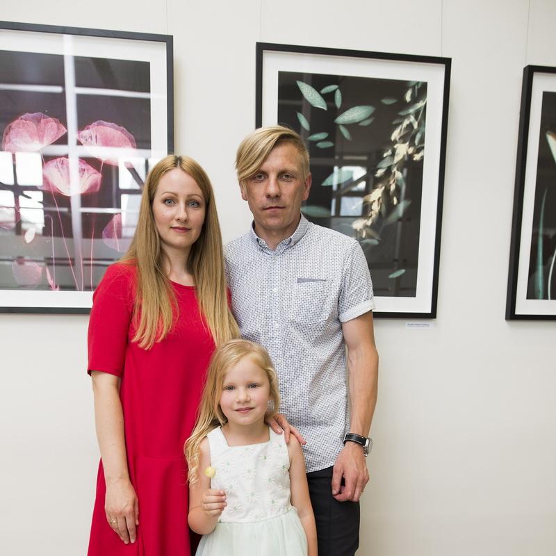 Žilvino Kropo, jo žmons Aušros ir šešiametės dukrytės Mėtos paroda stebina originalumu. ASMENINIO ARCHYVO (R. GRUBINSKO) nuotr.
