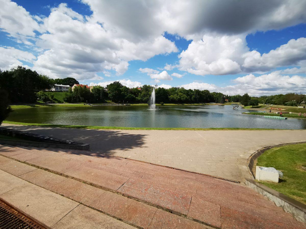 Senvagėje senąjį fontaną pakeis naujas šokantis. I. Stulgaitės – Kriukienės nuotr.