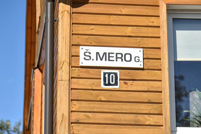 Gydytojo Šachnelio Abraomo Mero atminimui gatvė Panevėžyje pirmąkart buvo pavadinta 1933 metais. P. ŽIDONIO nuotr.
