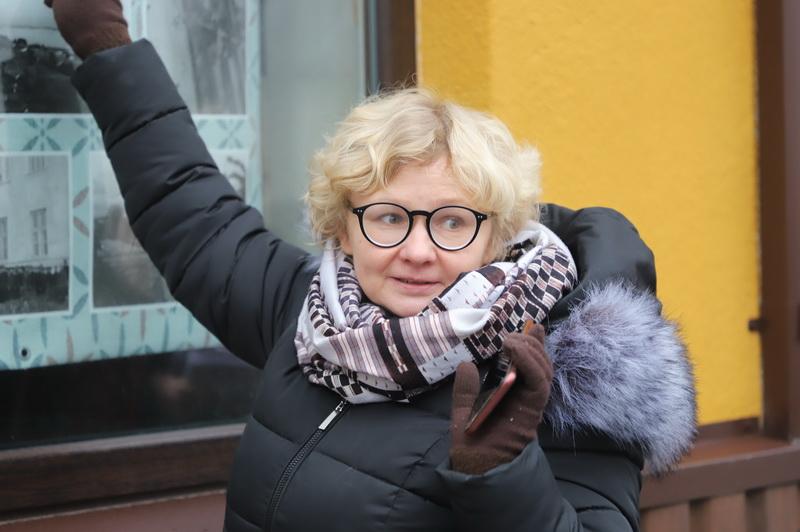 Ramygalos kultūros centro vadovė Loreta Kubiliūnienė. I. STULGAITĖS-KRIUKIENĖS nuotr.