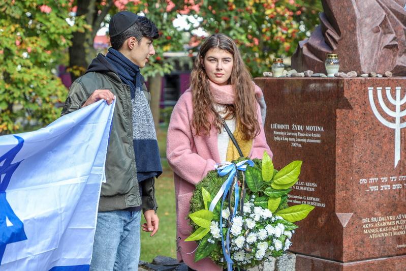 Jaunosios kartos įtraukimas į bendruomenės gyvenimą – irgi vienas būdų išsaugoti turtingą Panevėžio miesto žydų istoriją bei paveldą. I. STULGAITĖS-KRIUKIENĖS nuotr.