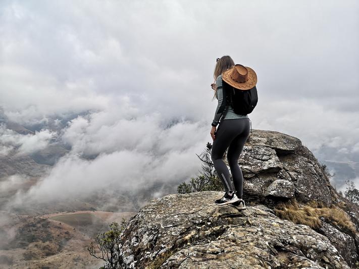 Vienuolio kapišono kalnas Drakensberge. ASMENINIO ARCHYVO nuotr.