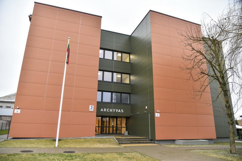 Dabartinio Šiaulių regioninio valstybės archyvo Panevėžio filialo, įsikūrusio M. Valančiaus gatvėje, pradžia siejama su 1941 metų pavasarį sovietų valdžios įsteigtu apskrities valstybiniu archyvu. P. ŽIDONIO nuotr.