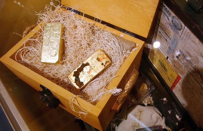 2018-ųjų vasario mėnesį Long Byče, Kalifornijoje, buvo eksponuojamas įspūdingas aukso luitų, monetų lobis, ištrauktas iš vandenyno dugno.