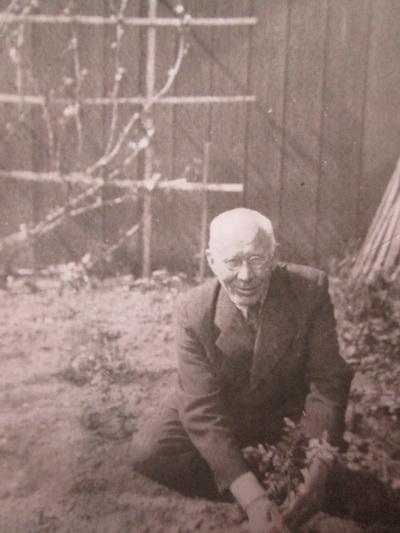1944-ieji. Paskutinė Juozo Zikaro nuotrauka. MUZIEJUEDUKACIJA.LT nuotr.