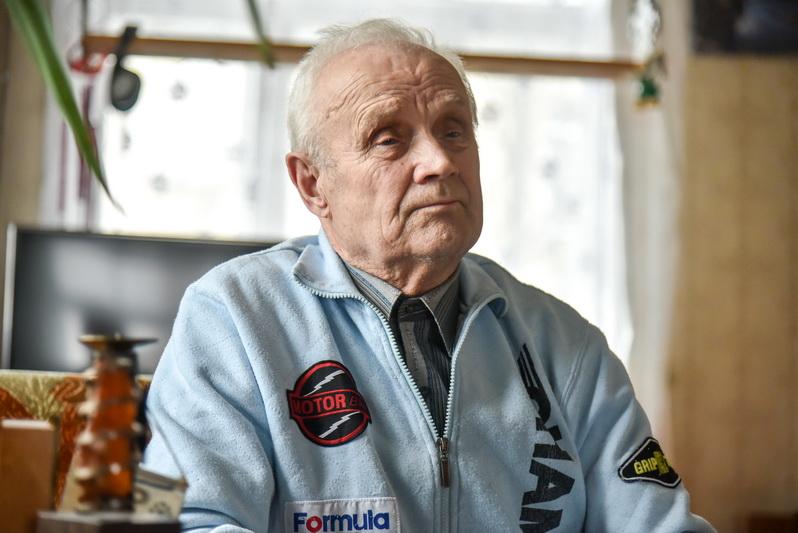 Buvęs automobilių sporto čempionas Eugenijus Oliandra. P. ŽIDONIO nuotr.