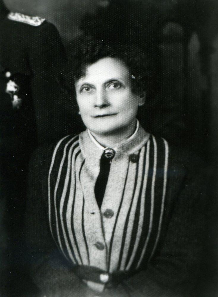 Elžbieta Jodinskaitė apie 1930 m. Panevėžio apskr. G. Petkevičaitės-Bitės bibliotekos fondo nuotr.