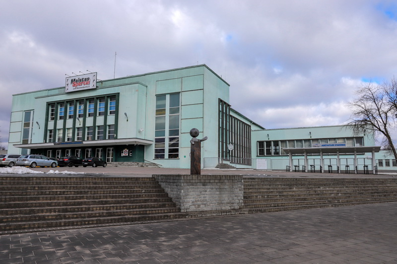 Panevėžio sporto rūmai šiandien. I. STULGAITĖS-KRIUKIENĖS nuotr.