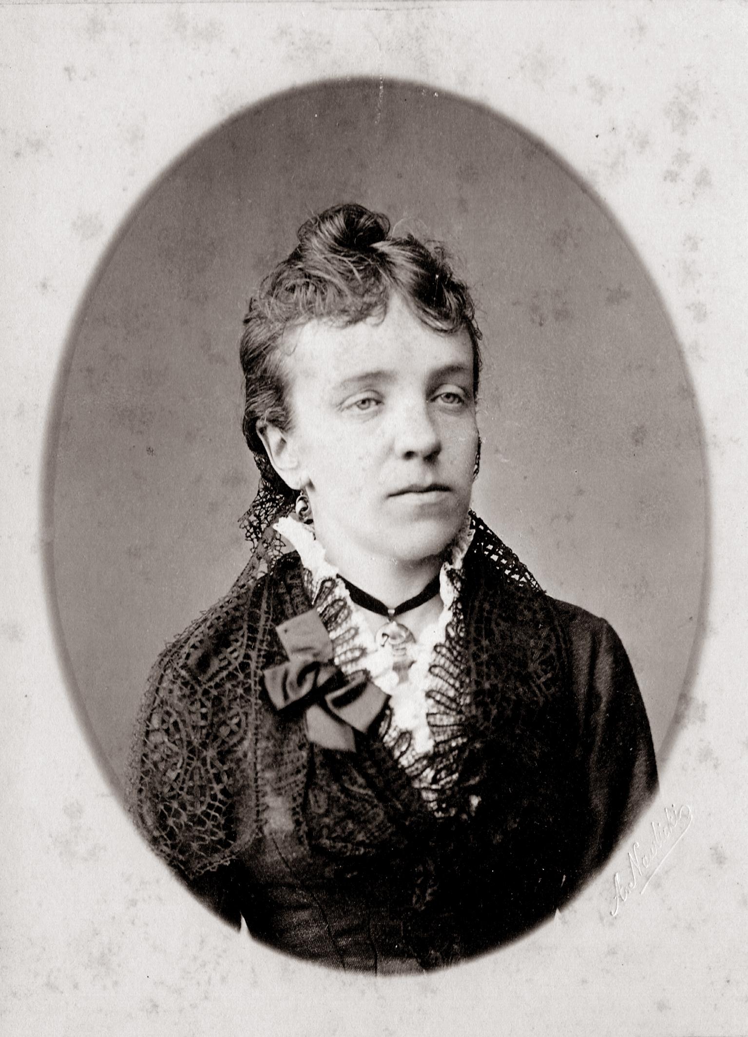 J. Moigio motina Liudvika Liucija Moigienė. XIX a. pabaiga. PANEVĖŽIO KRAŠTOTYROS MUZIEJAUS FONDO nuotr.