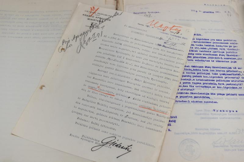 1973 metais Panevėžio kraštotyros muziejus įsigijo 61 Panevėžio vyskupijos kurijos archyvo bylą. G. KARTANO nuotr.