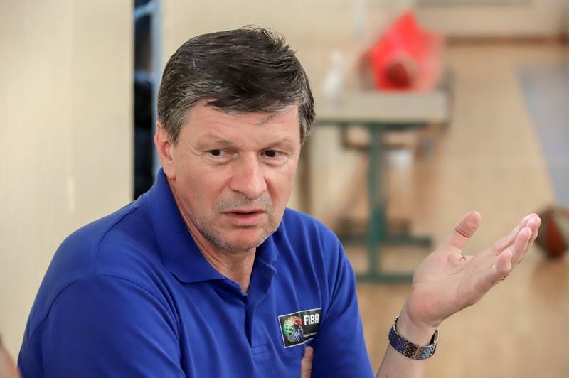 """""""Dabar sportas itin susijęs su dideliais pinigais, ne kaip seniau"""", – G. Leonavičius mano, kad jo laikais """"buvo ramiau"""". I. STULGAITĖS-KRIUKIENĖS nuotr."""