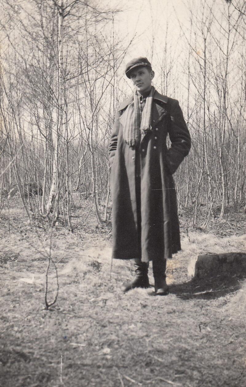 Vytautas Laužikas, rezistencinio judėjimo dalyvis nuo 1944 metų. XX a. 5–6-asis dešimtmečiai. PANEVĖŽIO KRAŠTOTYROS MUZIEJAUS FONDŲ nuotr.