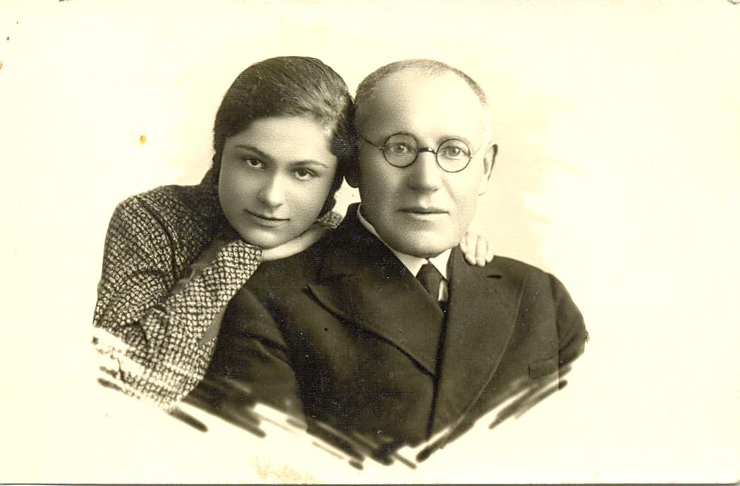 Su dukterėčia Bogumila Masiulyte. PANEVĖŽIO KRAŠTOTYROS MUZIEJAUS FONDŲ nuotr.