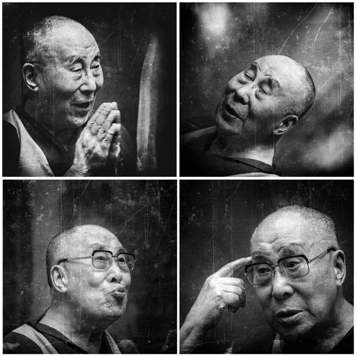 V.Pečininas, Jo Didenybę Tenzdiną Gjaco, XIV-tasis Dalai Lama.