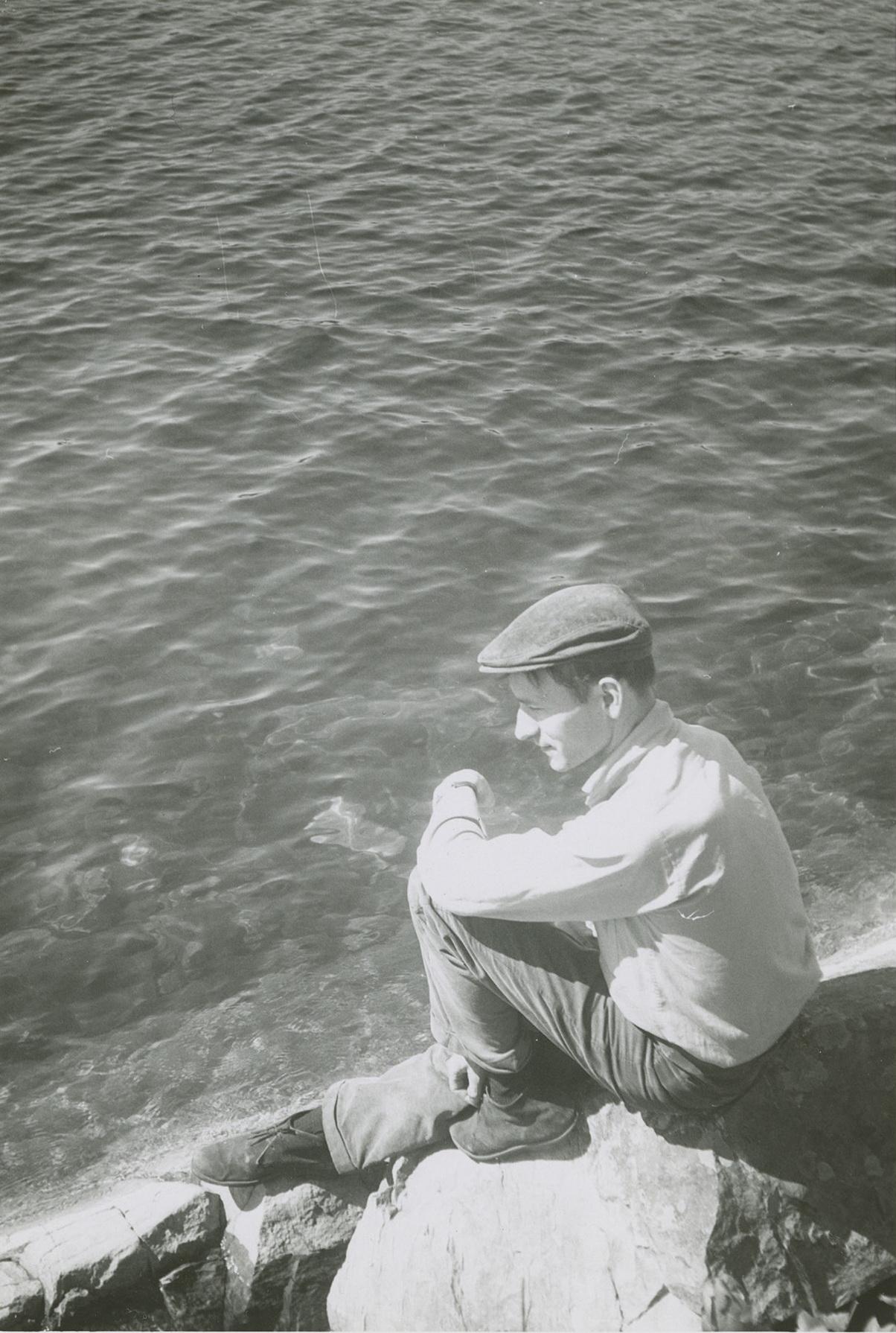 """Jonas Mekas, 1952-ieji. MONIRA FOUNDATION """"JONAS MEKAS: OPEN ARCHIVES 35"""" nuotr."""