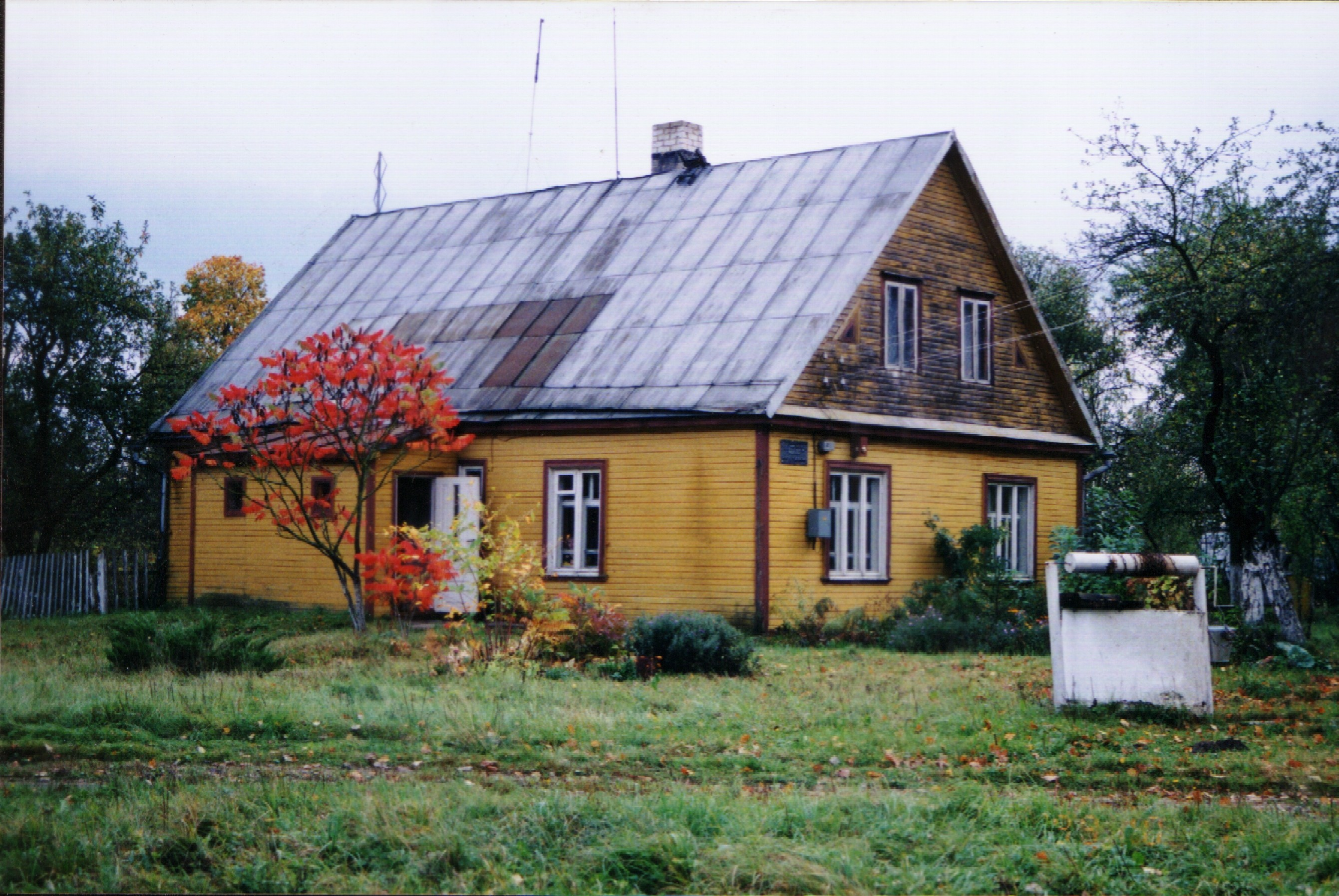 Namas Panevėžyje, kuriame rašytojas ilgus metus gyveno. PANEVĖŽIO RAJONO SAVIVALDYBĖS VIEŠOSIOS BIBLIOTEKOS nuotr.