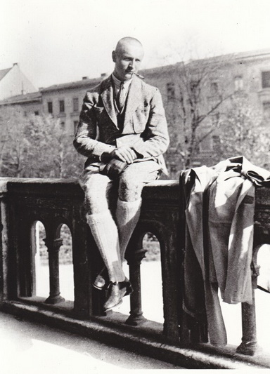 Miuncheno universiteto studentas.1923-ieji. MLLM nuotr.