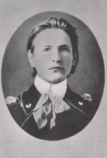 Petrogrado Miškų instituto studentas. 1915 metai. MLLM nuotr.