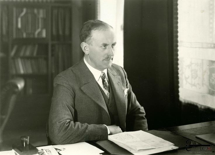 Vytautas Jonas Gylys (nuotraukoje – dar Klaipėdos krašto gubernatoriaus poste, kurį užėmė 1932–1934 metais), išsaugojęs okupacijos išvakarėse į užsienį išvežtą tarpukario Lietuvos užsienio reikalų ministerijos archyvą. LCVA nuotr.