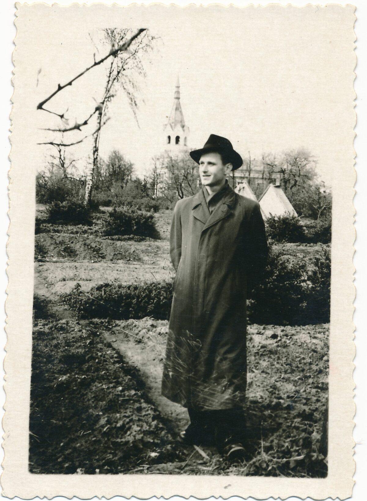 Bronius Kutavičius Panevėžys. 1953 m. Panevėžio apskrities G. Petkevičaitės–Bitės viešosios bibliotekos fondo nuotr.