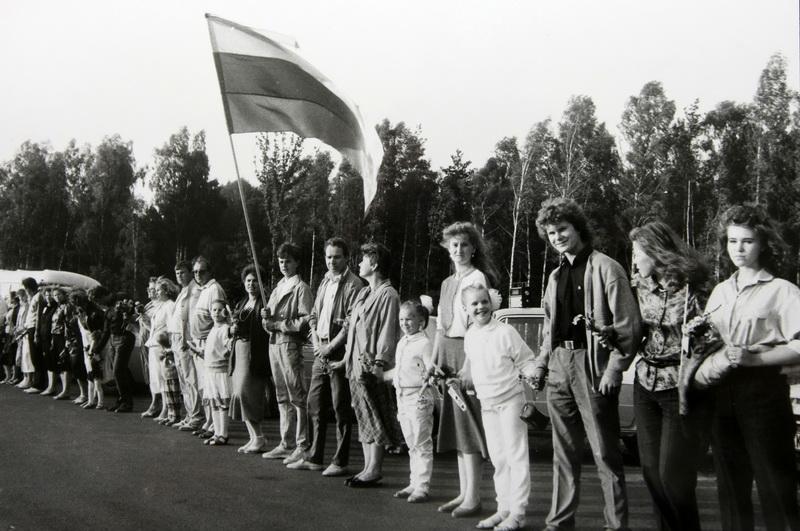 UNESCO globon 2009 metais perduoti įvairūs Baltijos kelio dokumentai: garsiniai, vaizdiniai, popieriniai. Paraiška dėl šios kolekcijos įrašymo į tarptautinį registrą teikta kartu su Latvija ir Estija. PB ARCHYVŲ nuotr.